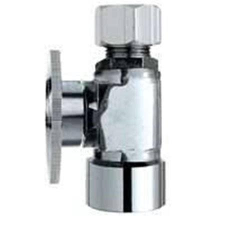 "Plumb Pak Turn Straight Quarter Shut-Off Valve - .5""x0.25"""