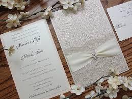 Glitter Invitation Wedding Elegant Rustic Vintage