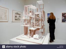 100 House Na London UK 22 March 2017 An Architectural Model Showing
