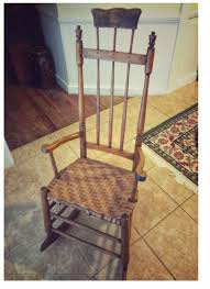 Determining The Value Of An Unusual Old Rocking Chair With ... Early American Fniture And Other Styles How To Choose The Most Comfortable Rocking Chair The Best Reviews Buying Guide October 2019 Fding Value Of A Murphy Thriftyfun Beautiful Antique Edwardian Mahogany Rocking Chair Amazing Leather Seat H O W T Restore On Antique Shaker Puckhaber Decorative Antiques Era High Normann Cophagen 19th Century Caistor Chairs 91 For Sale At 1stdibs