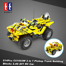 514Pcs Double E C51003W 2 In 1 RC Pickup Truck Building Blocks Kits ... Scale Rc Of A Toyota Tundra Pickup Truck Rc Pinterest 9395 Pickup Tow Truck Full Mod Lego Technic Mindstorms Gear Head 110 Toy Vinyl Graphics Kit Silver Cr12 Ford F150 44 Pickup Black 112 Rtr Ready To Rc4wd Trail Finder 2 Truck Stop Light Bars Archives My Trick Milk Crate Blue 1 Best Choice Products 114 24ghz Remote Control Sports Readers Ride Of The Year March Sneak Peek Car Action Toys With Dancing Disco