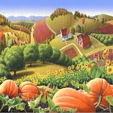 Best Pumpkin Patch Snohomish by Pumpkin Patch Paintings Fine Art America