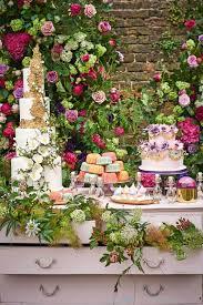Wedding Dessert Table Idea Summer Flowers Bridesmagazine Co Uk