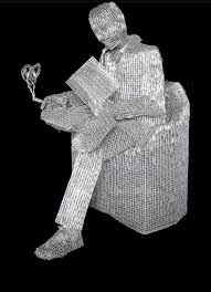 Do You Have A Favorite Or Detail That He Created With Paperclips What Part Amazes Think They Are Nothing Special