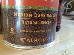 Pumpkin Spice Keurig Nutrition by Trader Joe U0027s Coffee Pumpkin Spice Calories Nutrition Analysis