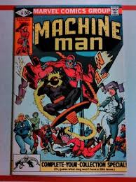 MACHINE MAN 19 1978 1ST JACK OLANTERN VF NICE Frank