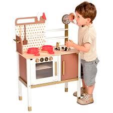 cuisine janod janod maxi cuisine chic play kitchen building blocks