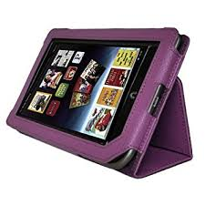 Amazon Tablet Case Cover AGPtEK Slim Folio Stand Leather