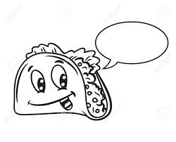 Drawn tacos funny cartoon 9