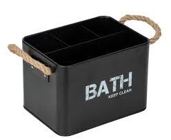 badezimmer organizer gara farbe schwarz wenko