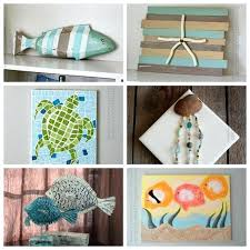 Beach Craft Ideas Crafts For Adults And Kids Toddlers If You Love Coastal Decor Seashell Check Out All Of