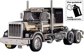 100 Rc Tamiya Trucks Amazoncom 56336 RC King Hauler Black Edition Toys Games