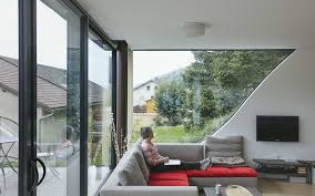 100 Jds Architects Wavy Greenroofed Casa Jura Disappears Into Frances Rolling