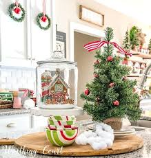 Close Up Kitchen Ornaments Christmas Tree Portable Island Shop Trees Within 9029