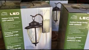 how to install outdoor light fixture altair led outdoor energy