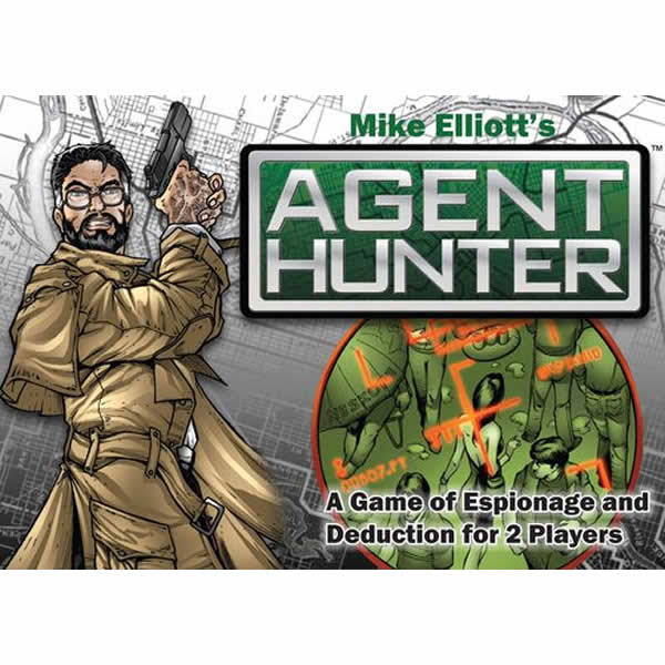 Alderac Entertainment Group 5361 Agent Hunter a Game of Espionage