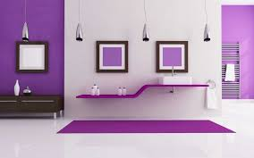 Gallery Of Bathroom Purple Wall Decor Home Collection With Pictures Design Wonderfull Cool Under