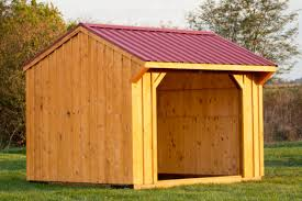 Livestock Loafing Shed Plans by How To Position Your Run In Shed Byler Barns