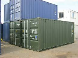 100 Shipping Crate For Sale 20ft X 8ft New One Trip Containers ONLY 2095Vat IN