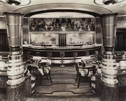 deco cocktail bar