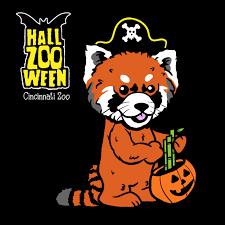 Cincinnati Zoo Halloween by Hallzooween Red Panda Harriet Cincinnati Zoo Cincy Shirts