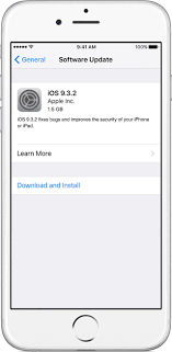 Update the iOS software on your iPhone iPad or iPod touch