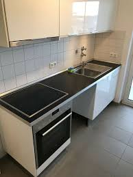 ikea küche hochglanz weiß einbauküche küchenzeile