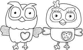 Owl Coloring Pages And Printable