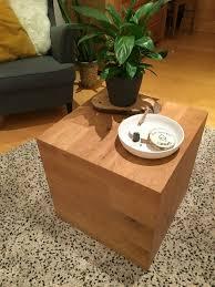 couchtisch wohnzimmer würfel regal nachttisch beistelltisch