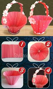 DIY Paper Basket How To Make Easy Accordion For Chocolates