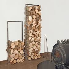 woodtower verzundertes stahlgestell zum stapeln brennholz