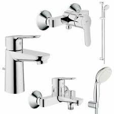 details zu grohe bauedge und tempesta bad armaturen sets waschtisch brause wanne dusche