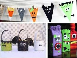Simple Kids Crafts Halloween Craft With Construction Paper Ideas For 1st Graders