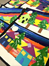 Kindergarten Winter Shapes