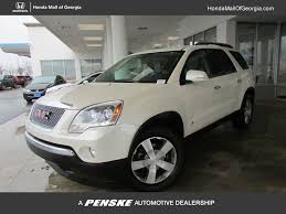 100 Drs Truck Sales 2010 Used GMC Acadia FWD 4dr SLT1 At Honda Mall Of Georgia Serving
