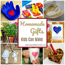 Easy Homemade DIY Gift Ideas Kids Can Make Simple Enough For Toddlers And Preschoolers