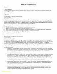 Career Change Resume Objective Statement Examples New Samples Myacereporter Of