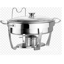 Electric Round Glass Lid Chafing Dish