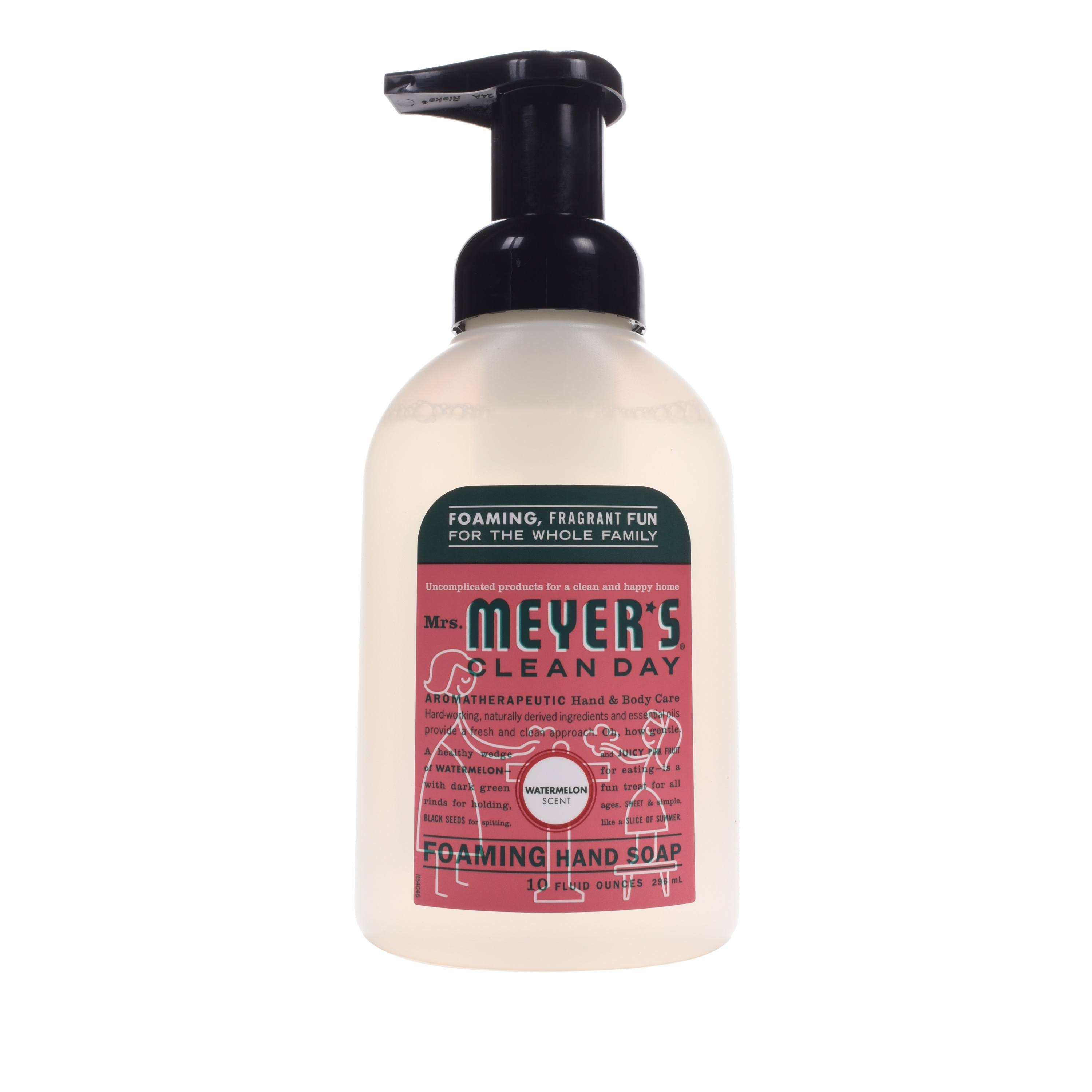 Mrs Meyer's Clean Day Foaming Hand Soap - Watermelon, 10oz