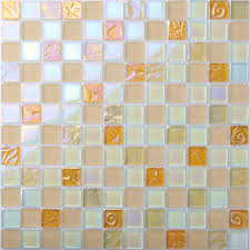 iridescent glass tile mosaic pink back splash bathroom shower walls