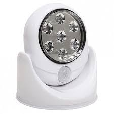 Glow Bright 7 Led Wireless Motion Sensor Activated Bright Light