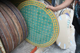 cool mosaic tiled table designs and colors modern cool at mosaic