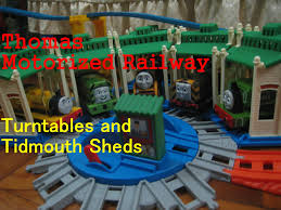 thomas and friends motorized railway build packs tidmouth sheds
