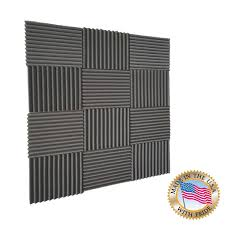 12 X 12 Foam Ceiling Tiles by Amazon Com Mybecca 12 Pack Acoustic Wedge Studio Soundproofing