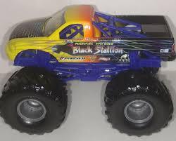 100 Black Stallion Monster Truck Hot Wheels 164 Monster Truck EBay
