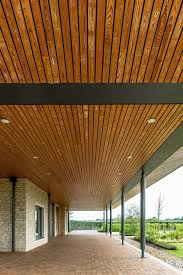 104 Wood Cielings Solid Ceilings Exterior By Hunter Douglas Architectural Media Photos And Videos 2 Archello