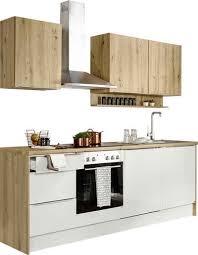 set one by musterring küchenzeile nashville set ohne e geräte breite 235 cm