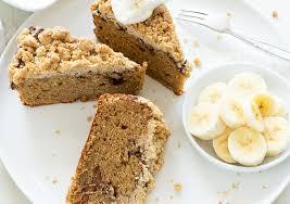 banane zimt und zucker erdnussbutter kuchen meine