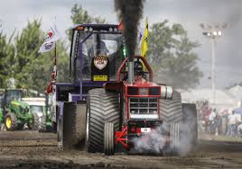 100 Central Ohio Truck Pullers Annual BG Tractor Pulling Event Pulls In Drivers From All Over