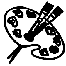 Artistic Clipart Black And White 11